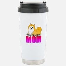 Particolor Pomeranian Mom Stainless Steel Travel M