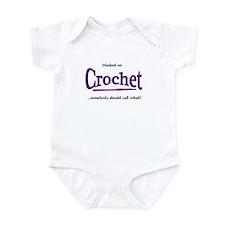 Funny Crochet hook Infant Bodysuit