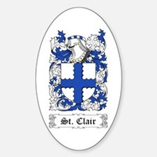 St. Clair Sticker (Oval)