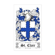 St. Clair Sticker (Rectangular)