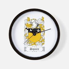 Squire [Scottish] Wall Clock
