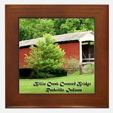 Billie Creek Bridge Framed Tile