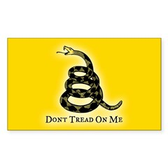 Dont Tread On Me Decal