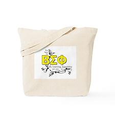 Beta Sigma Phi Tote Bag