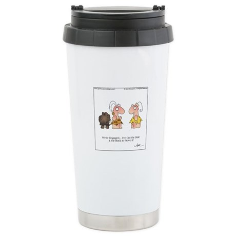 WE'RE ENGAGED! by April McCallum Travel Mug
