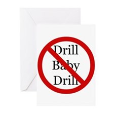 no more drilling Greeting Cards (Pk of 10)