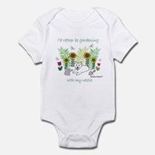 westie Infant Bodysuit