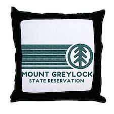 Mount Greylock Throw Pillow