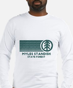 Myles Standish State Forest Long Sleeve T-Shirt