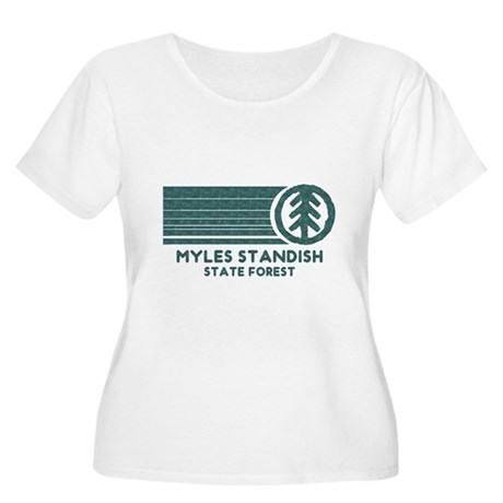 Myles Standish State Forest Women's Plus Size Scoo