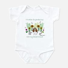 basset hound Infant Bodysuit