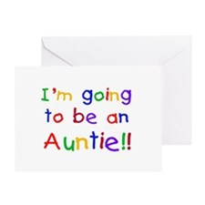 Going to be an Auntie Greeting Card