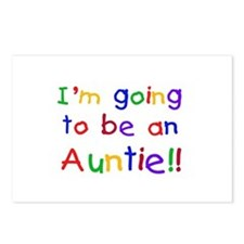Going to be an Auntie Postcards (Package of 8)
