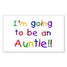 Going to be an Auntie Decal