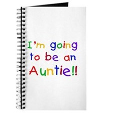 Going to be an Auntie Journal