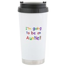 Going to be an Auntie Travel Coffee Mug
