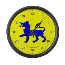 East Kingdom Populace Large Wall Clock