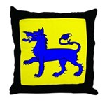 East Kingdom Populace Throw Pillow