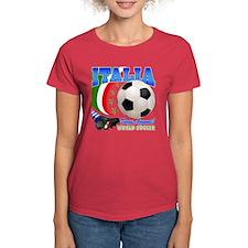 Italia World Soccer Kick Tee