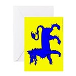 East Kingdom Populace Greeting Card