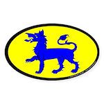 East Kingdom Populace Sticker (Oval 50 pk)