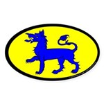 East Kingdom Populace Sticker (Oval 10 pk)
