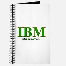 Irish by marriage Journal