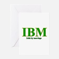Irish by marriage Greeting Cards (Pk of 10)