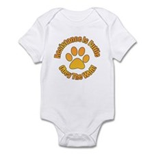 Obey The Wolf Infant Bodysuit