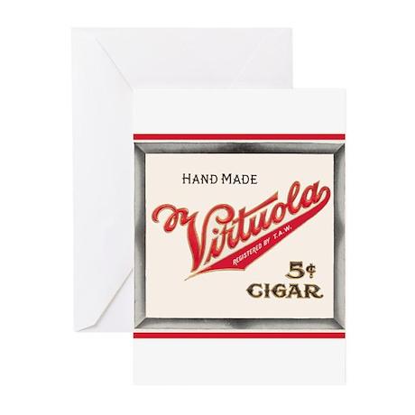 Vintage Cigar Label Greeting Cards (Pk of 10)
