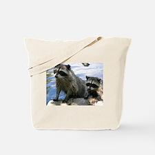 Racoon Buddies Tote Bag