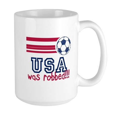USA Was Robbed Large Mug