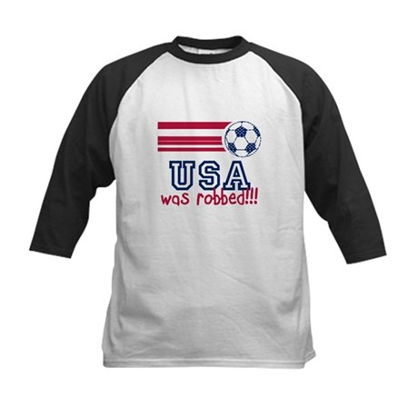 USA Was Robbed Kids Baseball Jersey