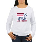 USA Was Robbed Women's Long Sleeve T-Shirt