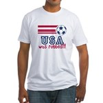 USA Was Robbed Fitted T-Shirt
