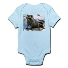 Racoon Buddies Infant Creeper
