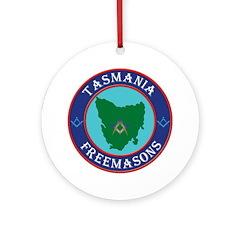 Tasmania Masons Ornament (Round)
