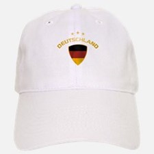 Soccer Crest DEUTSCHLAND gold Baseball Baseball Cap