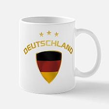 Soccer Crest DEUTSCHLAND gold Mug