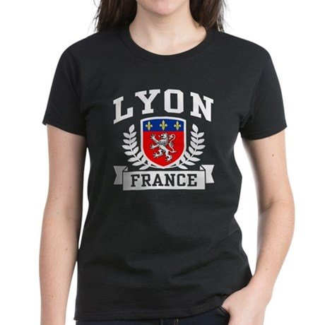 Lyon France Women's Dark T-Shirt