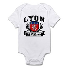 Lyon France Infant Bodysuit