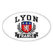 Lyon France Decal