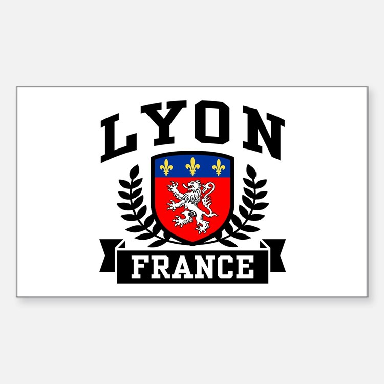 lyon car accessories auto stickers license plates more cafepress. Black Bedroom Furniture Sets. Home Design Ideas