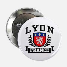 """Lyon France 2.25"""" Button"""
