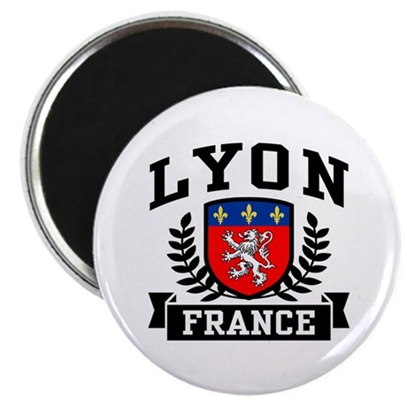 Lyon France Magnet