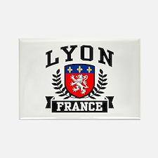 Lyon France Rectangle Magnet