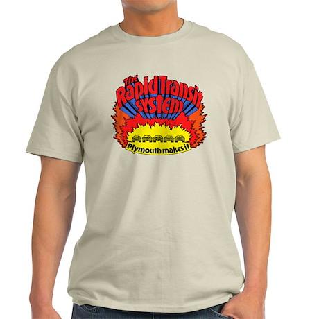 Rapid Transit System - Plymouth Light T-Shirt