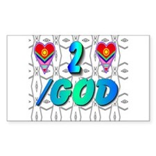 Heart to Heart with God Decal