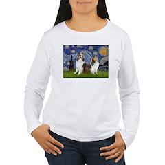 Starry / Two Shelties (D&L) T-Shirt