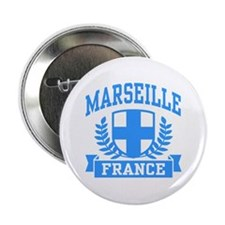 "Marseille France 2.25"" Button"